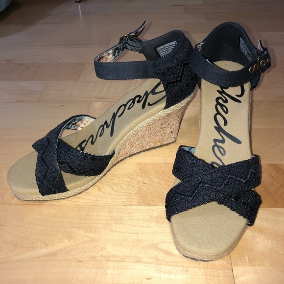 offer discounts top fashion beauty Skechers NEW High Heel Wedges NWT